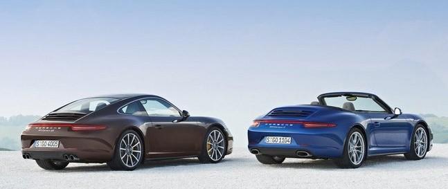 Premières photos de la nouvelle Porsche 911 Carrera 4 et 4S