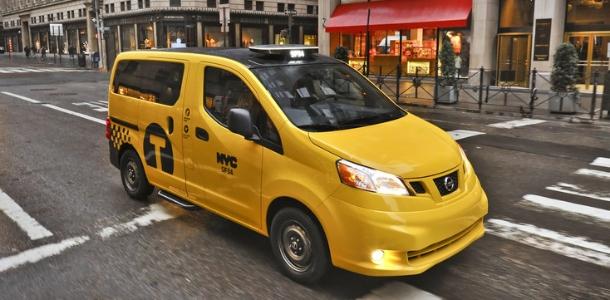 Les taxis de New York choisissent le Nissan NV200