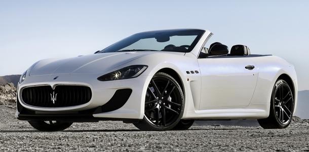 Quelques photos de la Maserati GranCabrio MC Stradale