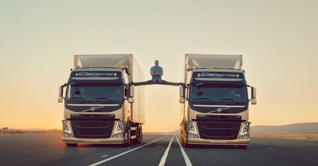 Jean Claude Van Damme, un grand écart périlleux pour Volvo !