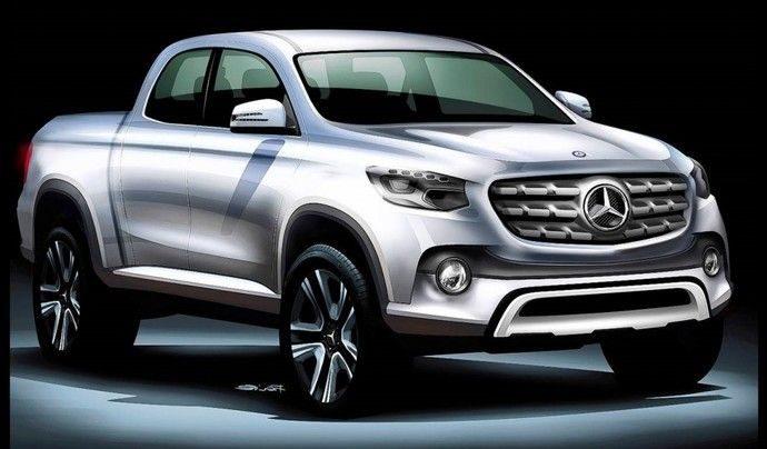 Le premier pickup Mercedes très bientôt sur le marché