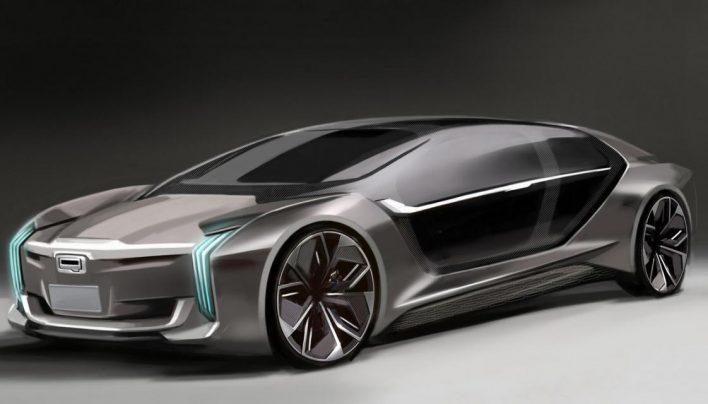 Qoros K-EV Concept: la supercar sino-suédoise tout droit sortie du futur
