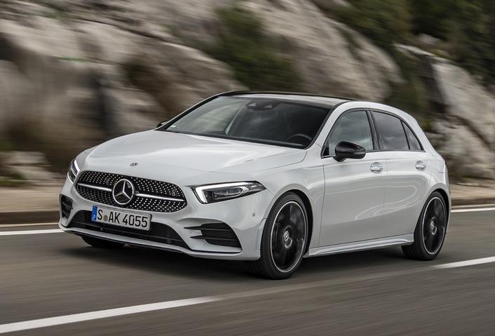 Mercedes classe A 4